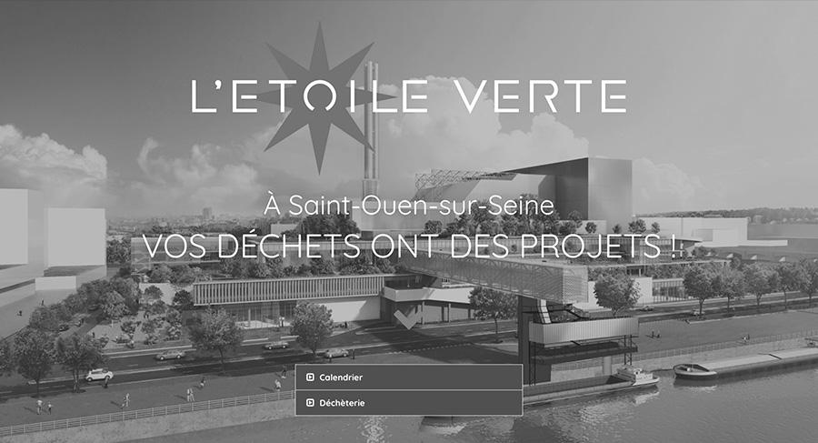1R2com Création Site Web pour le Syctom Noir et Blanc